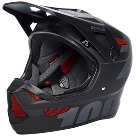 100% Status DH/BMX Bike Helmet grey/black
